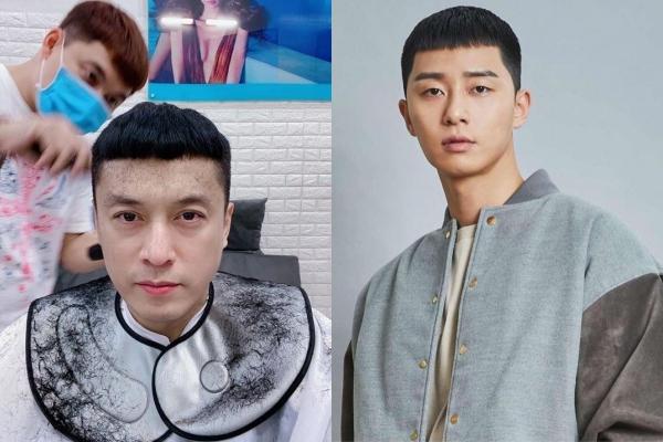 """Chẳng chịu thua kém đồng nghiệp, """"Anh Hai"""" Lam Trường cũng bắt kịp trend tóc """"ngố tàu"""" của Park Seo Joon"""