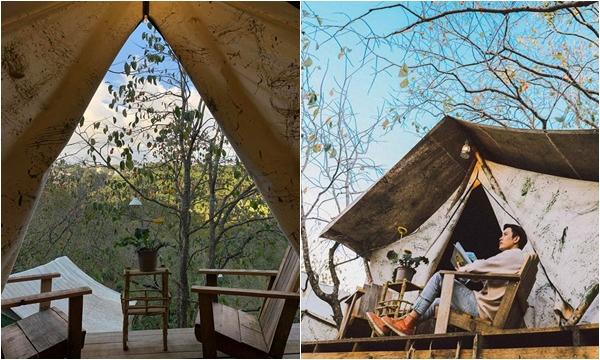 Homestay lều gỗ ở Đà Lạt nườm nượp cặp đôi săn lùng bởi sự hoang dại và có thể tắm tiên