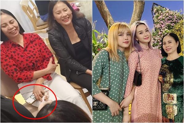 """Nhìn ốp điện thoại của mẹ Thiều Bảo Trâm cũng thấy, Sơn Tùng được """"nhà vợ"""" yêu quý mức nào"""