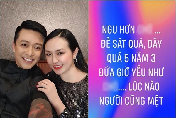 Sau khi bị vu khống ly hôn chồng, vợ Tuấn Hưng lại đăng status ấm ức trách móc