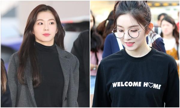 Thời trang sân bay không cần kính râm, Irene vẫn xinh đẹp rạng ngời, cùng lắm thì dùng món phụ kiện này