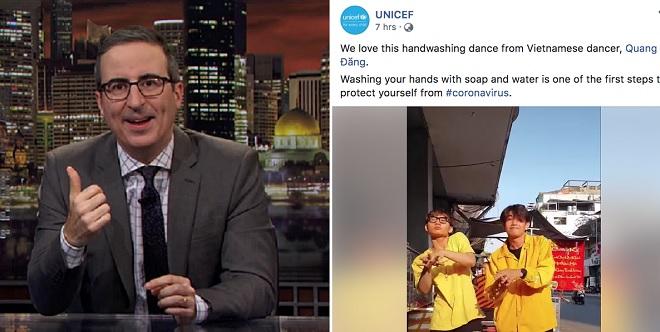 """Clip hướng dẫn phòng Covid-19 của Việt Nam - """"Ghen Cô Vy"""" hot toàn cầu: Truyền hình Mỹ khen, UNICEF chia sẻ"""