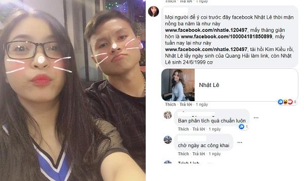 Yêu lại tình đầu: Thấy Quang Hải lôi lại post cũ rồi tag tên mình, Nhật Lê âm thầm đổi sinh nhật Quang Hải làm địa chỉ FB