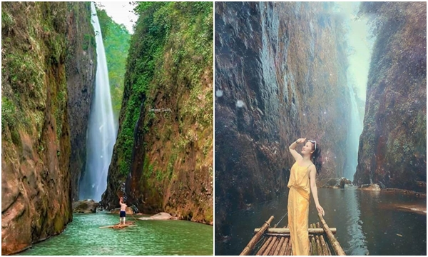 """Đẹp ná thở trước con thác """"Rồng trắng"""" giữa lưng chừng núi ít người biết ở Lào Cai"""