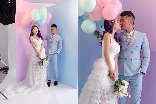 """Khoe ảnh cưới """"kín đáo"""" hơn thường lệ nhưng Ngân 98 cùng Lương Bằng Quang vẫn bị soi gương mặt và bắp tay dị dạng"""