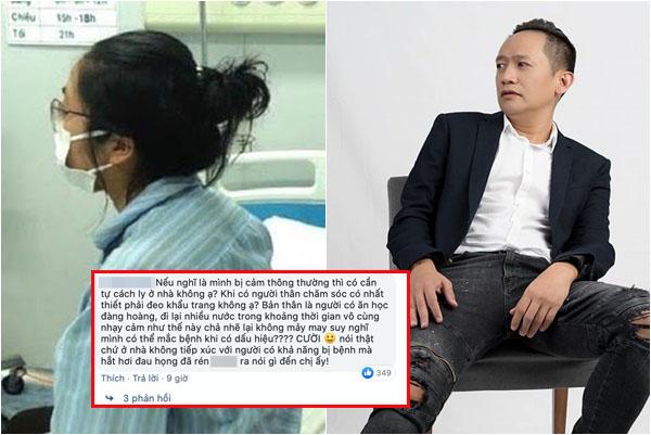 Ca sĩ Duy Mạnh gây tranh cãi khi bênh vực cô gái Hà Nội nhiễm Covid-19 không khai báo