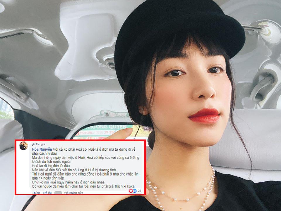 """Nối gót Khắc Tiệp, Hòa Minzy lại khiến dân tình nổi giận vì xem Huế là """"ổ dịch phải cách ly"""""""