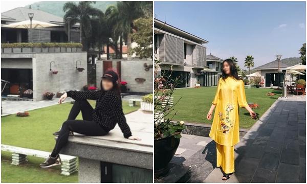 """Choáng ngợp trước """"biệt phủ"""" xa hoa như resort 5 sao của hai chị em ca nhiễm số 17 ở Hà Nội"""