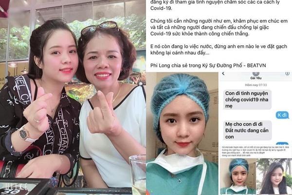 Bị tố dựng chuyện tình nguyện đi chống dịch để Pr bản thân, nữ sinh Đà Nẵng giãi bày: Cả đêm hai mẹ con không ngủ được