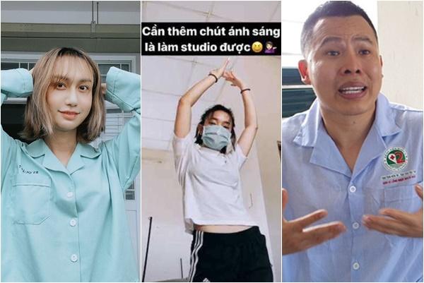 Góc lạ lùng: Khắc Tiệp chê khu cách ly ngột ngạt, nhưng loạt sao Việt cứ ngỡ mình đi nghỉ dưỡng