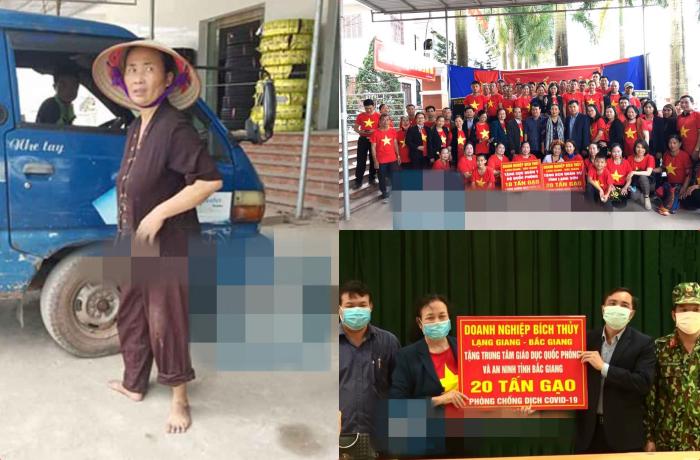 Nữ đại gia Bắc Giang ủng hộ 50 tấn gạo cùng cả nước chống dịch: Gia thế khủng nhưng có thói quen đi chân đất!