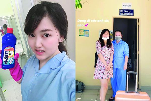 """Được ra ngoài sau 14 ngày, """"hot girl cách ly"""" háo hức muốn bắc loa kể chuyện: """"Việt Nam mình yêu thương nhau ra sao"""""""