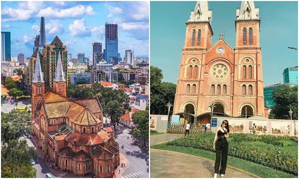"""""""Lụi tim"""" trước diện mạo mới Nhà thờ đức bà Sài Gòn sau khi trùng tu đẹp hơn chữ đẹp"""