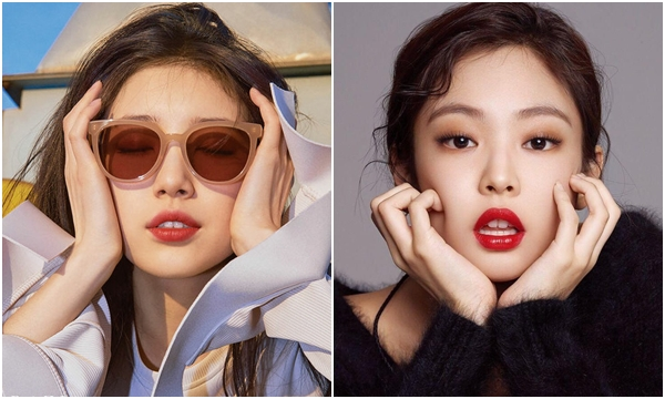 """Tung bộ ảnh mới, Suzy gây tranh cãi vì pose dáng """"na ná"""" Jennie đã thế 100 tấm biểu cảm như một"""