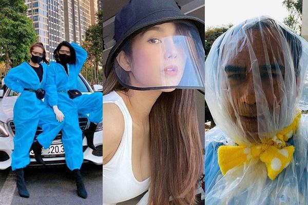 """Đừng vội chê cười, nhìn các sao Việt lăng xê items chống dịch chanh sả thế nào, đến NS Quyền Linh ai cũng phải """"phì cười"""""""