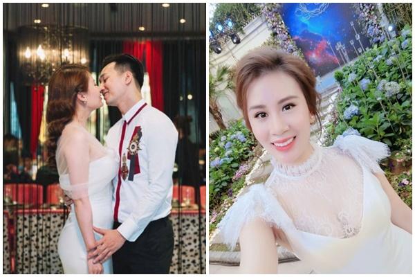 Nhan sắc nữ tiếp viên hàng không xinh đẹp không kém cạnh gì hot girl hiện là vợ MC Thành Trung