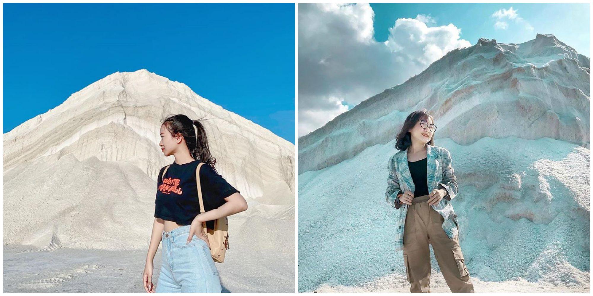 """Share mạnh tay tọa độ """"ngọn núi tuyết trắng"""" đẹp thần sầu ở Ninh Thuận"""