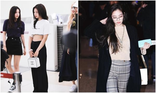 Đỉnh cao thời trang sân bay Jennie số 2 không ai dám số 1, túi hiệu rẻ nhất sương sương cũng gần trăm triệu chứ mấy