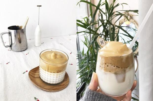 """Cách tránh dịch thú vị của Hàn Quốc: ở nhà làm cafe """"siêu bông"""" Dalgona được dân tình thi nhau """"bắt trend"""""""