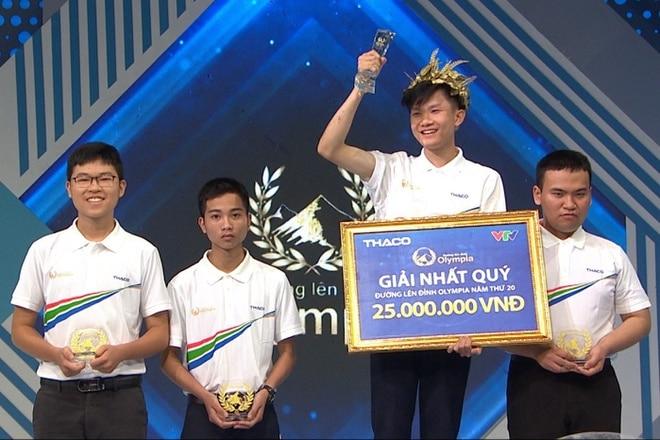 Phong độ đáng gờm của nam sinh Đắk Lắk lộ diện ứng viên vô địch Đường lên đỉnh Olympia năm thứ 20