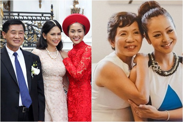 Chân dung những bà mẹ chồng sao Việt: Người xinh đẹp khí chất, người giàu có quyền lực!