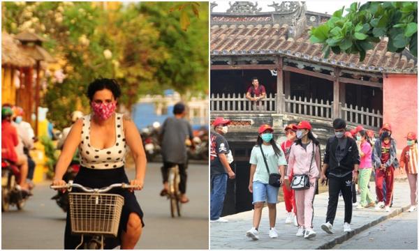Hội An yêu cầu khách nước ngoài phải đeo khẩu trang khi vào thành phố