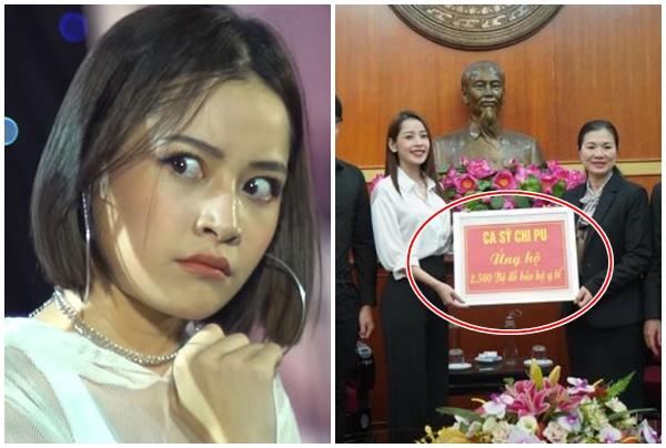 """Hào phóng quyên góp tiền tỉ chống dịch Covid-19, Chi Pu vẫn bị """"ném đá"""" vì tranh thủ PR bản thân?"""
