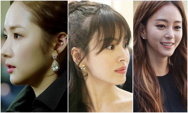 """Đừng bảo xỏ nhiều khuyên là """"trẩu tre"""", ra mà xem loạt chị đại Kbiz 8x không ngại đu trend này, ngạc nhiên nhất là Song Hye Kyo"""