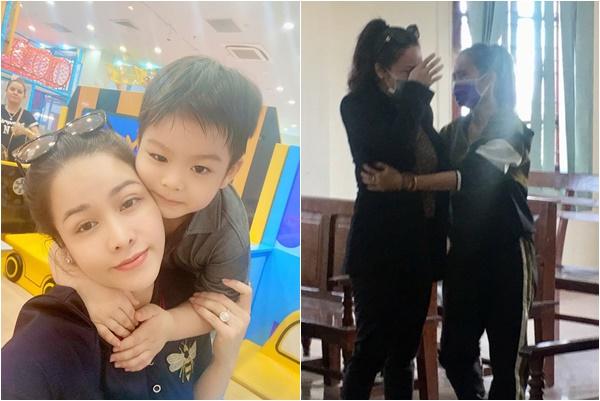 Nhật Kim Anh bật khóc trước tòa khi giành được quyền nuôi con, chồng cũ vẫn tuyên bố kháng cáo đến cùng