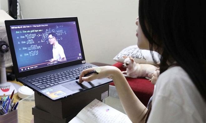 Các trường đại học được phép công nhận kết quả học trực tuyến như học tập trung tại trường?