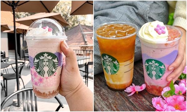 """Starbucks ra mắt thức uống phiên bản """"Hoa Anh Đào"""" nhìn thôi đã cưng xỉu"""