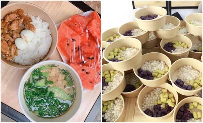 Nữ chủ quán ăn vặt nấu hàng trăm suất cơm, chè ngon lành tự tay mang đến tặng các y bác sĩ Bệnh viện Bệnh nhiệt đới Trung ương
