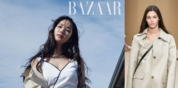 """Lên hình tạp chí Bazaar, Park Min Young thần thái sang chảnh """"lấn át"""" người mẫu hãng"""