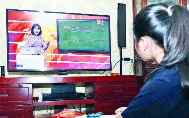 Bộ GD&ĐT hướng dẫn công nhận kết quả học trên internet và truyền hình cho THPT, GDTX