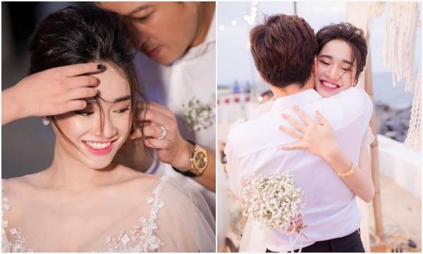 Trường Giang - Nhã Phương tung trọn bộ ảnh đính hôn sau 2 năm giữ kín