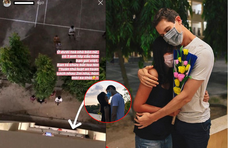 Bí mật không phải ai cũng biết trong vụ trai Tây cầu hôn gái Việt ở khu cách ly, dân tình giờ mới được khai sáng