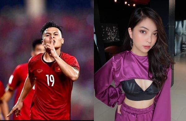 """Quang Hải à, trên sân bóng anh đá hay sao trên sân tình anh đá bay nút """"thích""""?"""