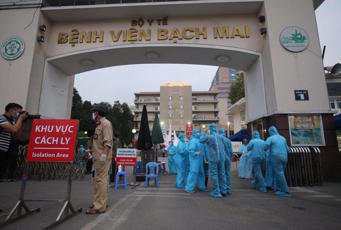 6 ca mắc Covid-19 mới liên quan tới Bệnh viện Bạch Mai