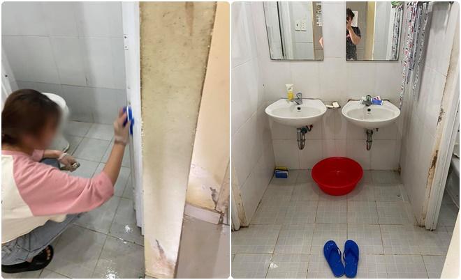 Nữ du học sinh biến cảm xúc hụt hẫng lúc vào khu cách ly thành hành động ý nghĩa khi dọn dẹp sạch sẽ khắp phòng