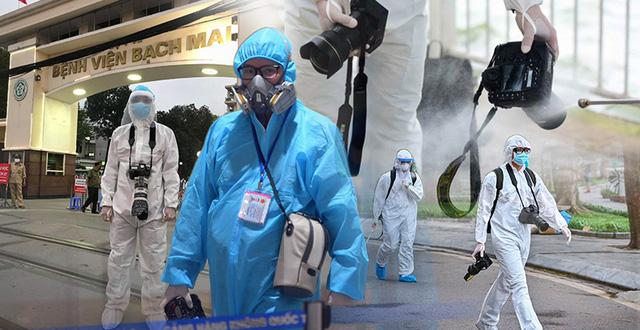 """Chống dịch Covid-19 còn có những phóng viên, nhà báo ngày đêm lăn xả vào """"tâm bão"""" chấp nhận rủi ro nghề nghiệp"""