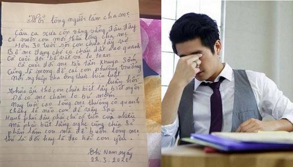 """Nhắc mãi con trai 30 tuổi không chịu lấy vợ, bố mẹ chuyển qua viết thư kể lể: """"Nỗi lòng cha mẹ"""""""