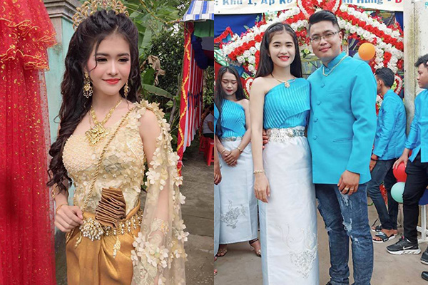 """Cô dâu Khmer xinh như """"hoa hậu"""" từng gây sốt MXH ngày nào giờ ra sao?"""