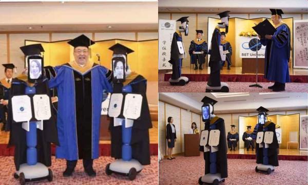 Bi hài chuyện nhận bằng tốt nghiệp thời Covid-19: Nhận diện sinh viên qua màn hình Ipad, không dám bắt tay vì sợ lây bệnh
