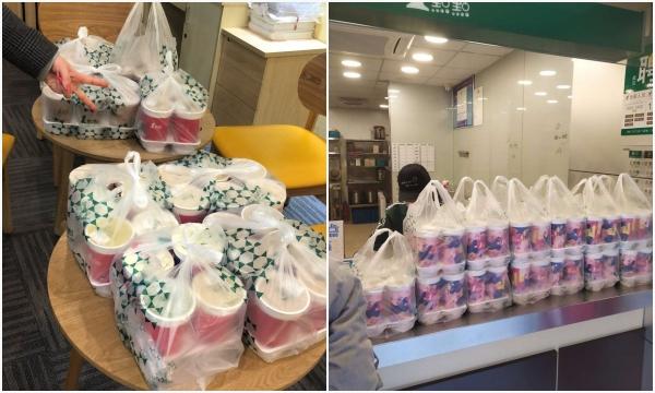"""""""Hoảng hồn"""" khách đặt trà sữa tăng gấp 8 lần sau đại dịch ở Vũ Hán"""