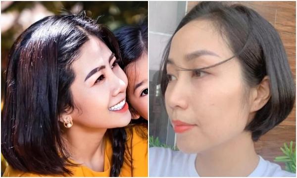 """Ốc Thanh Vân bất ngờ cắt tóc giống Mai Phương để tưởng nhớ người em """"bạc mệnh"""""""