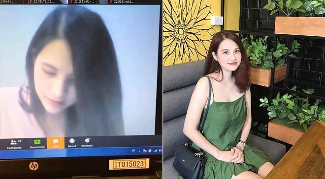 """Mùa dịch Covid-19 ở nhà học online, sinh viên xuýt xoa nhận ra góc nghiêng """"thần thánh"""" của nữ giảng viên xinh đẹp"""
