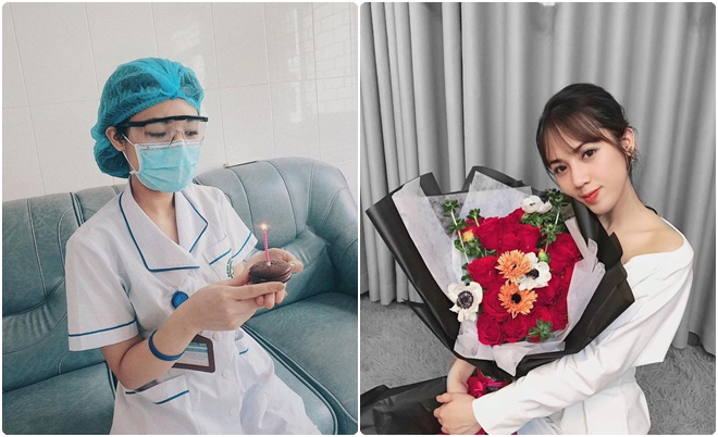 """Nữ thực tập sinh đón sinh nhật tuổi 23 trong """"tâm dịch"""" Bệnh viện Bạch Mai: """"Chúng mình không hề cảm thấy khó khăn"""""""