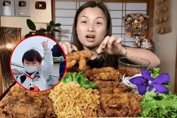 Ra mắt vlog mới, Quỳnh Trần JP khiến fan phát hoảng khi tiết lộ: Bé Sa co giật, sốt 39,6 độ C sau khi chơi người tuyết