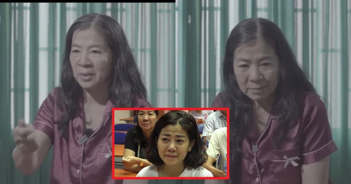 """Mẹ Mai Phương phủ nhận đoạn clip, kêu oan ức: """"Nỗi đau nào bằng mẹ mất con, xin hãy cho tôi sự bình yên"""""""