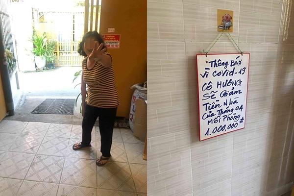 """Hành động """"chạm tới trái tim"""" của cô chủ nhà trọ: Giảm tiền thuê phòng trong mùa dịch dù nợ lãi ngân hàng còn chưa trả hết"""
